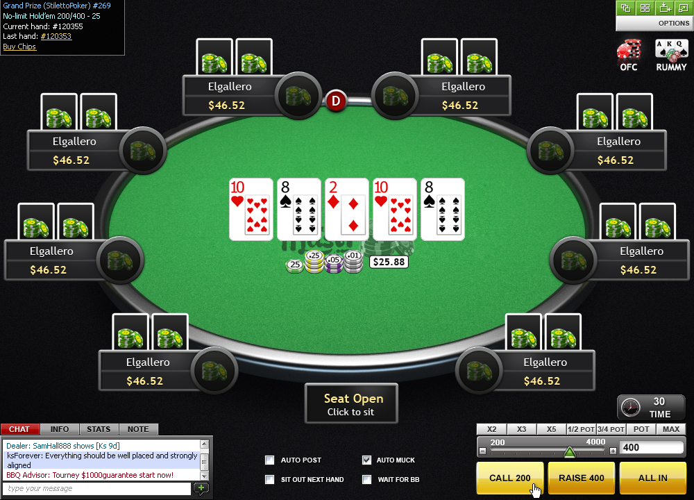 Poker evaluation software commerce casino hotel poker rate